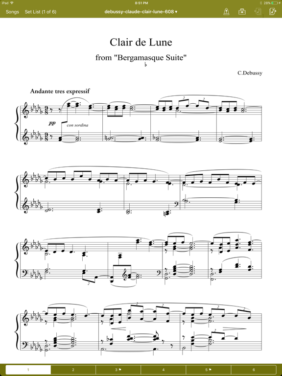 NextPage 3 Sheet Music Reader screenshot one