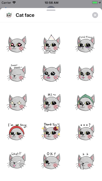 Cat faces screenshot 1