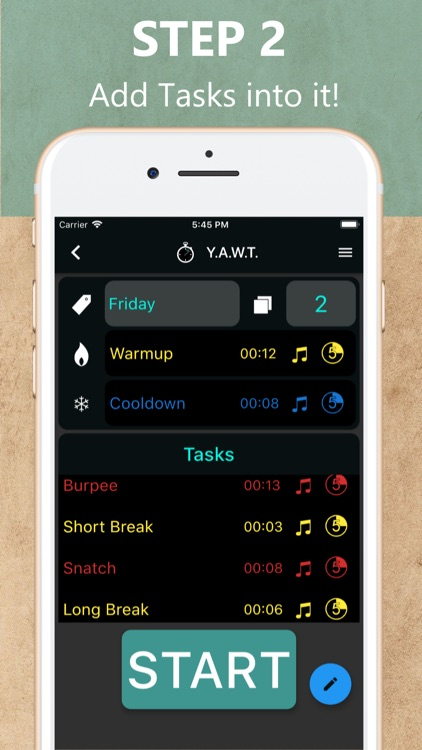 YAWT-Yet Another Workout Timer