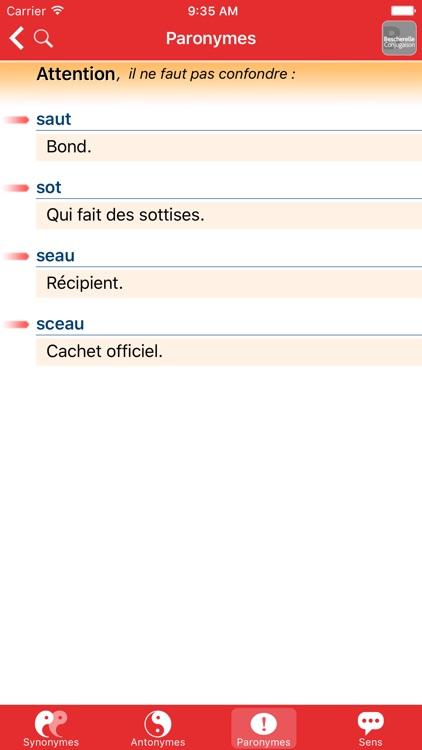 Bescherelle Synonymes screenshot-4
