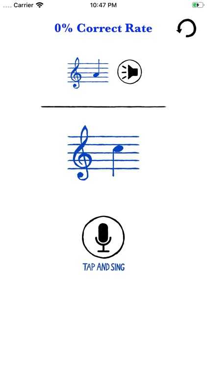 Sign like music note