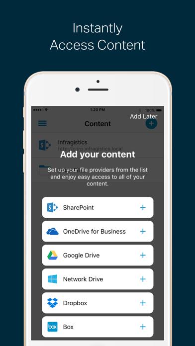 SharePlus for MobileIronのスクリーンショット1