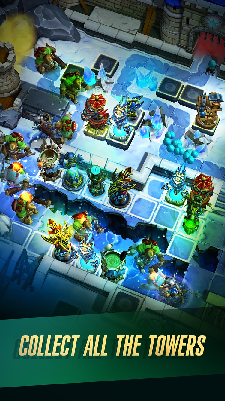 Defenders 2: Tower Defense CCG Screenshot