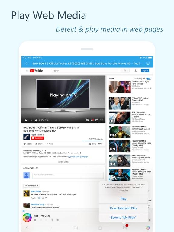 Screenshot #6 pour iPlayTo - Media Cast
