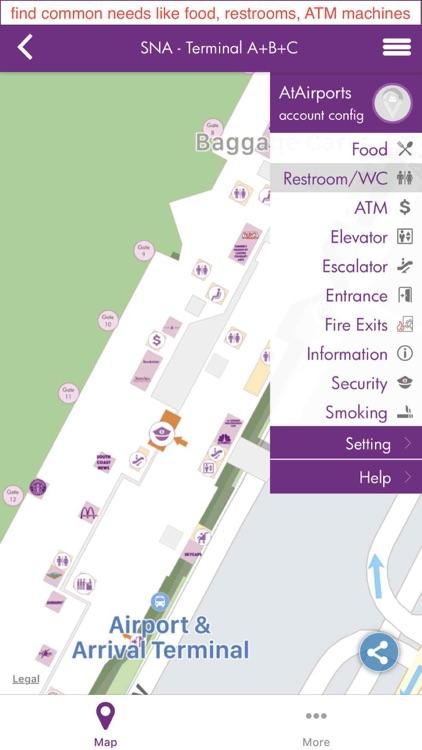 AtAirports - airport maps screenshot-3