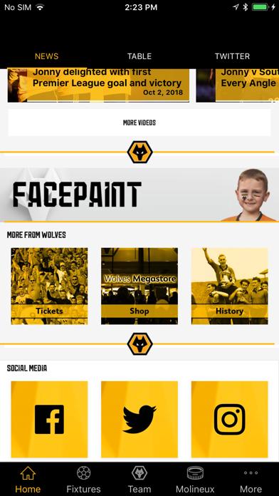 Wolves App screenshot two