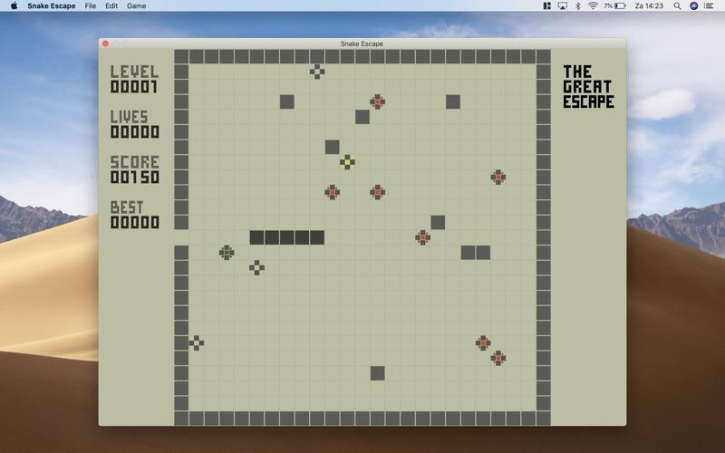 Snake Escape - Classic Arcade for Mac