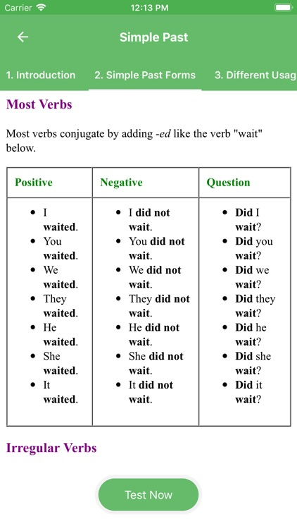 English Grammar (Tenses Test) by Duy Phung The