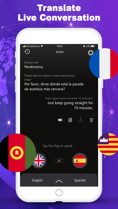 Voice & Speak Translator App screenshot 1