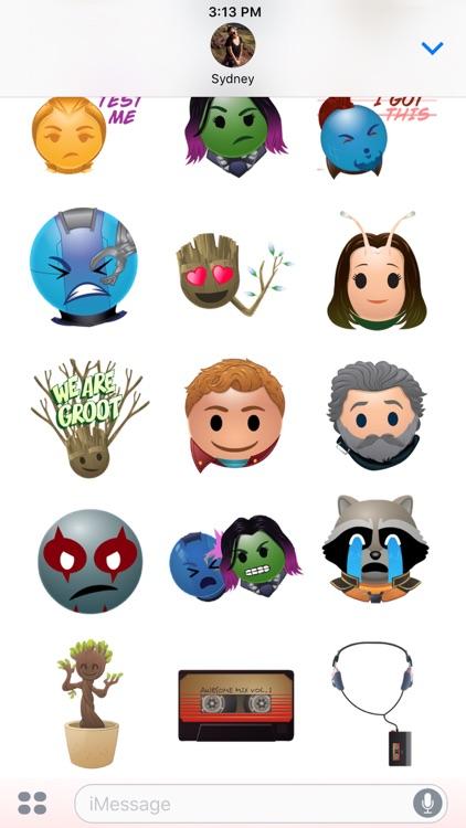 Marvel's Guardians Stickers screenshot-4