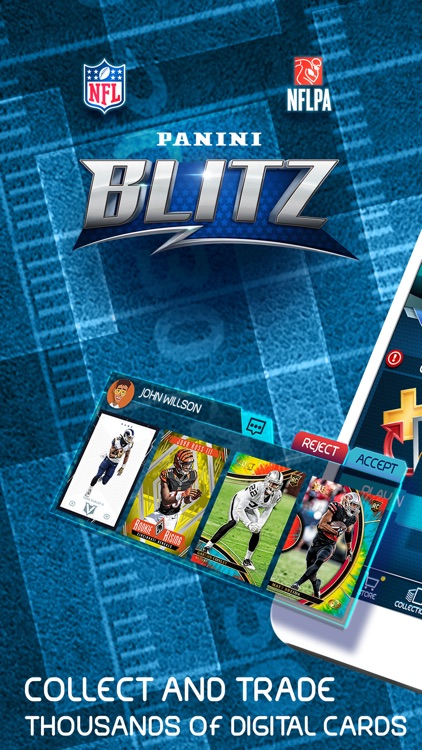 NFL Blitz - Trading Card Games screenshot-0