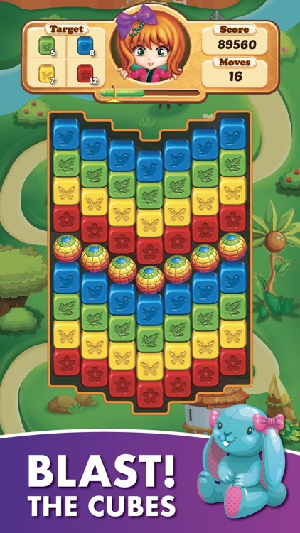 Toy Collapse:Crush Cube Puzzle screenshot-0