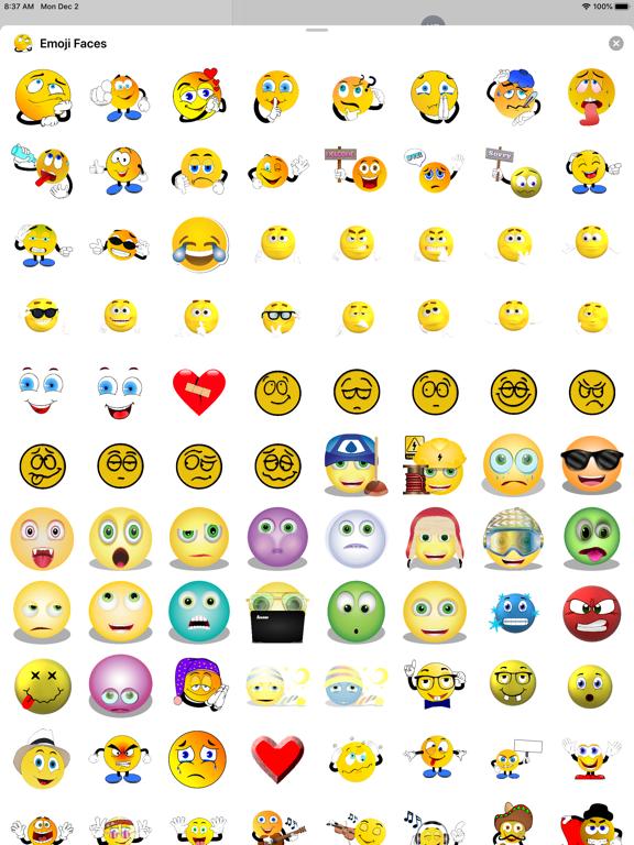 Emoji Faces Sticker Pack screenshot 11