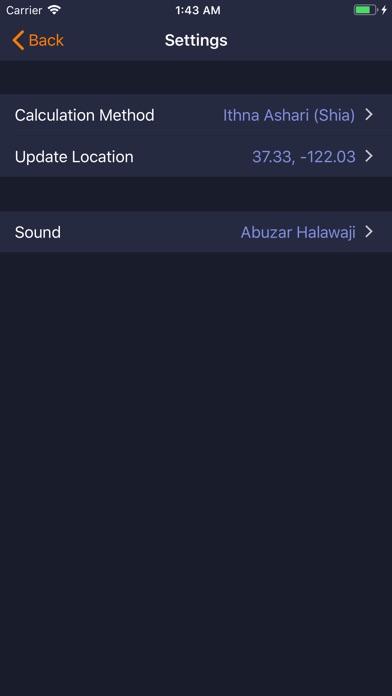 Dawn Clock-Islamic Prayer Tool screenshot #4