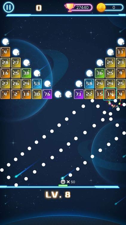 层层弹弹球 - 打砖块小游戏 screenshot-3