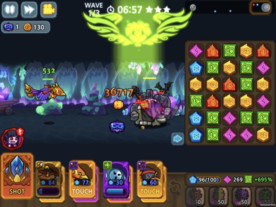 パズル&ディフェンス:Match 3 Battleのおすすめ画像3