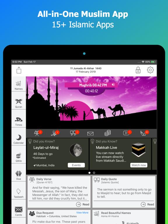 Screenshot #4 pour Calendrier islamique: Coran