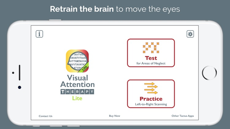 Visual Attention Therapy Lite screenshot-0