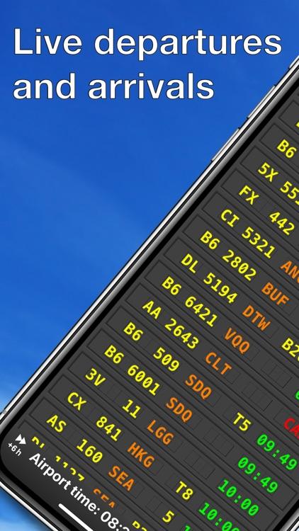 mi Flight Board Airport status screenshot-0