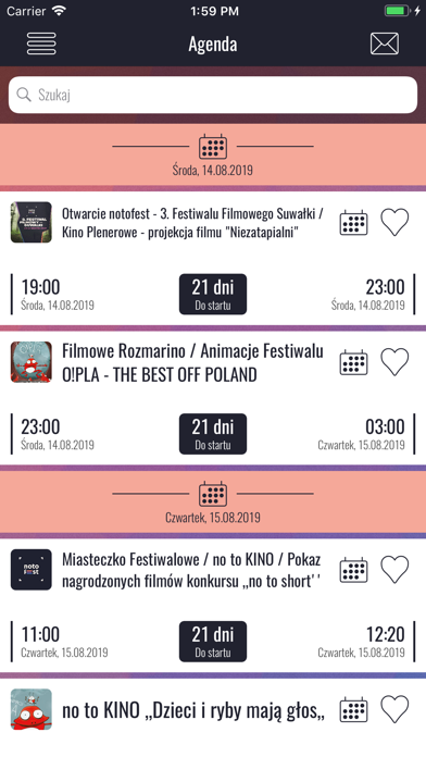 Festiwal notofest 2019 screenshot 2