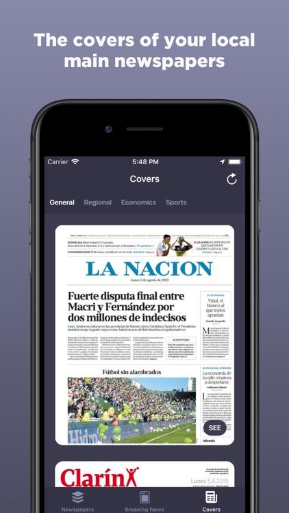Argentine Newspapers screenshot-4