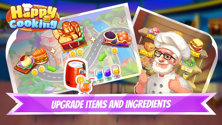 Happy Cooking-Time Management screenshot-4