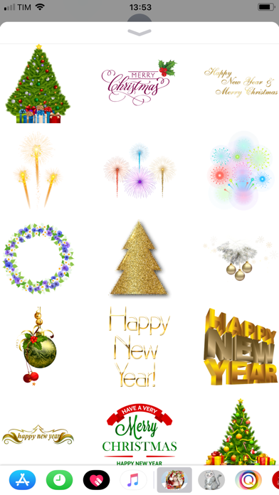 Christmas and Happy New Year screenshot two
