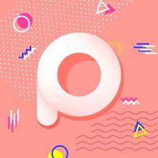PicSee-美圖文字 - 照片文字設計添加, 可愛相片貼紙