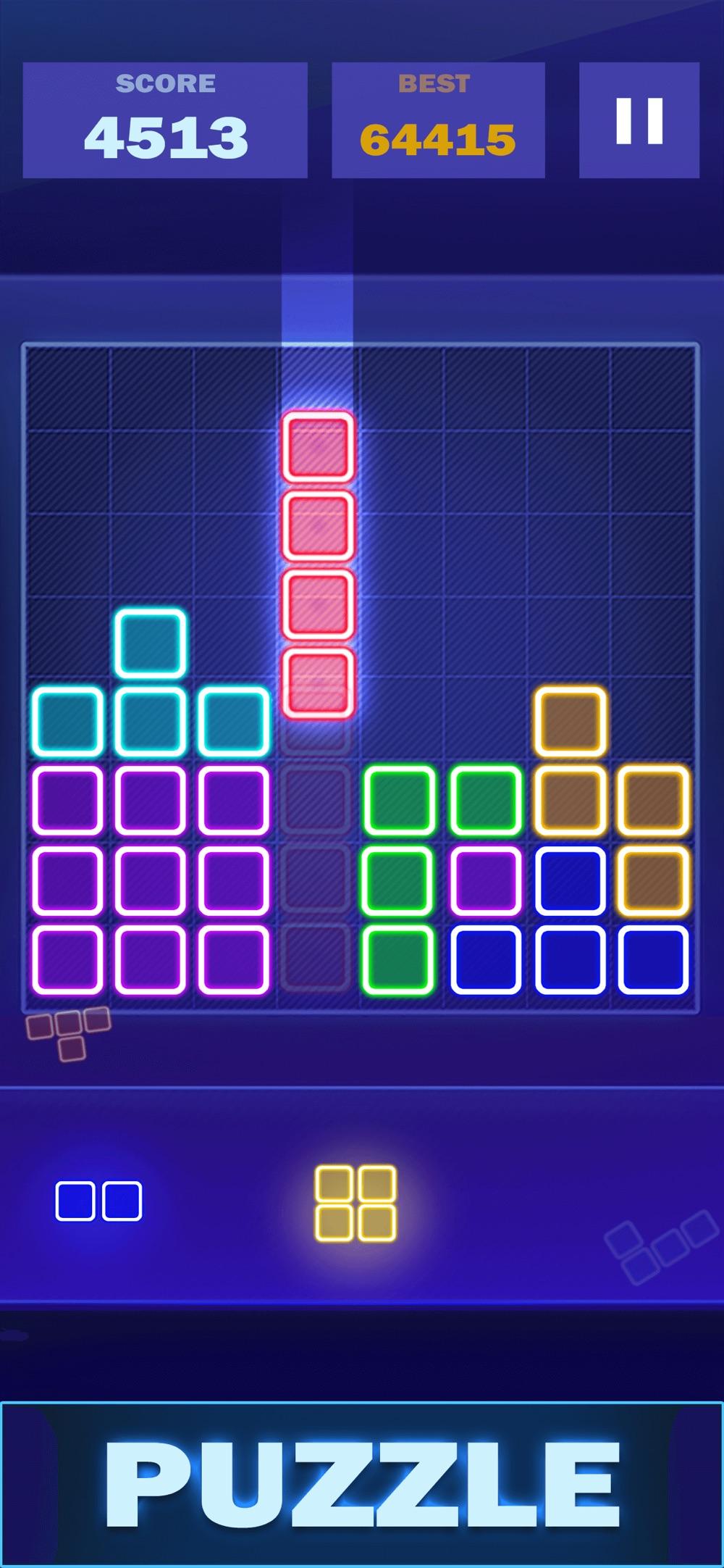 Glow Block Puzzle Legend Cheat Codes