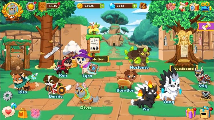 Dungeon Dogs - Idle Hero RPG screenshot-5