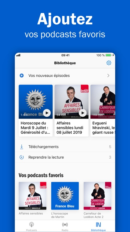 Radio France - podcasts, infos screenshot-3