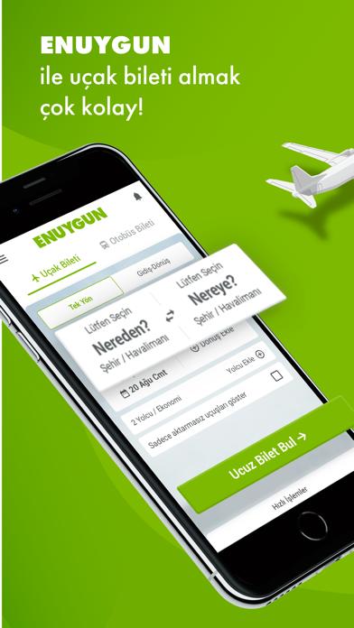 ENUYGUN - Uçak Bileti, Otobüs screenshot one