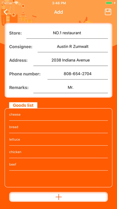 Delivery Assistant-Statistics screenshot 3