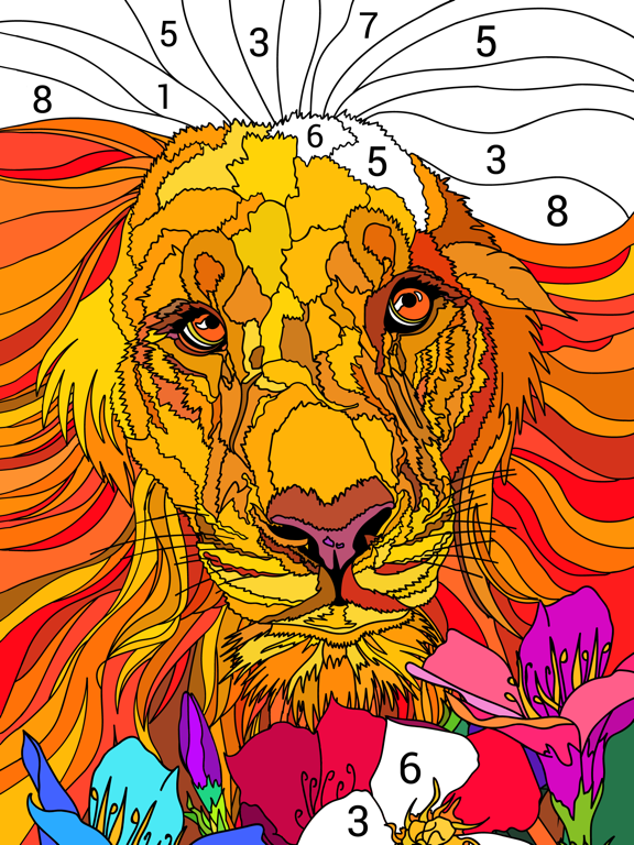 Happy Color™ – 数字で塗り絵。数字で色ぬりえのおすすめ画像4