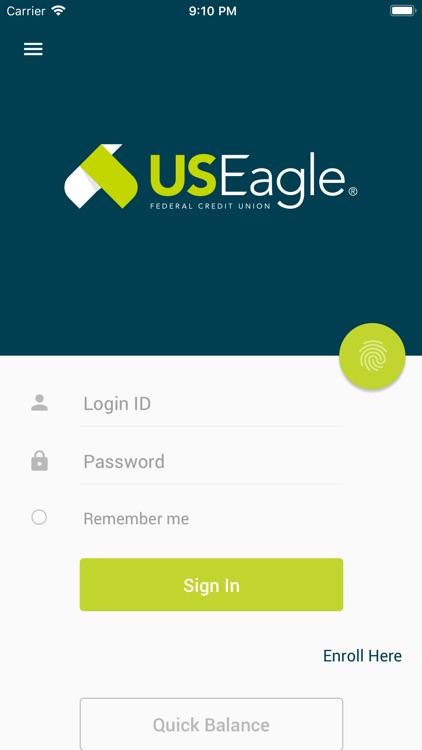 U.S. Eagle Mobile Banking