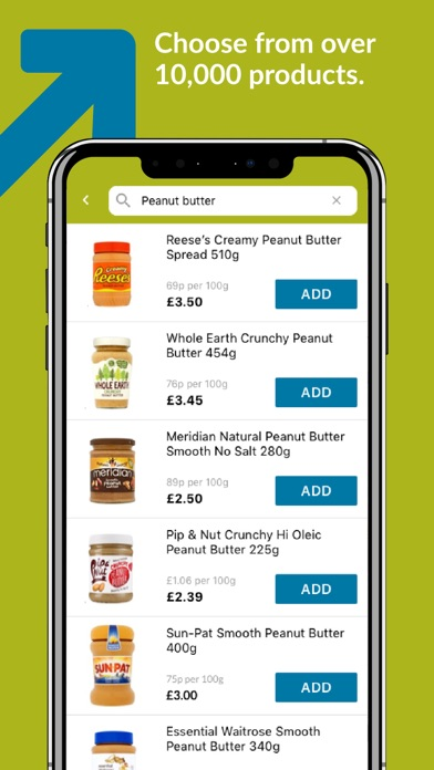 Ocado Zoom grocery delivery screenshot two