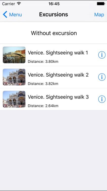 Venice offline audio guide