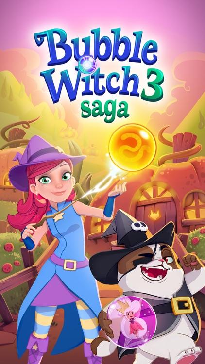 Bubble Witch 3 Saga screenshot-4