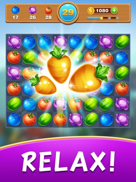 Fruit Jam - Match 3 toonのおすすめ画像1
