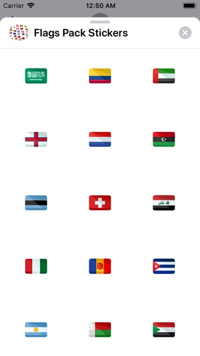 Flags Pack Stickers app image