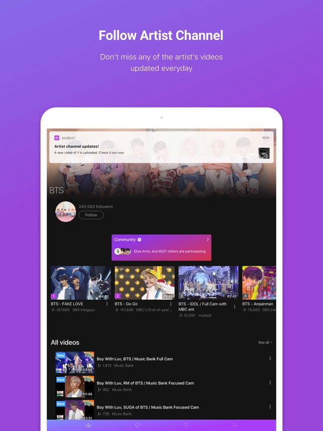 Mubeat for KPOP Lovers on the App Store