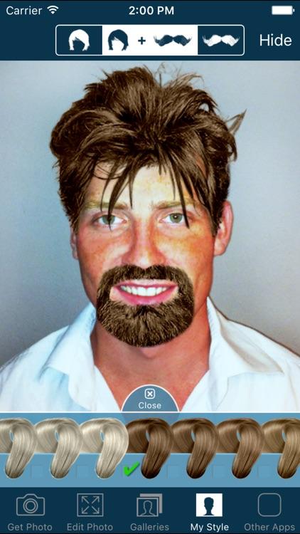 Hair and Beard Styles screenshot-3