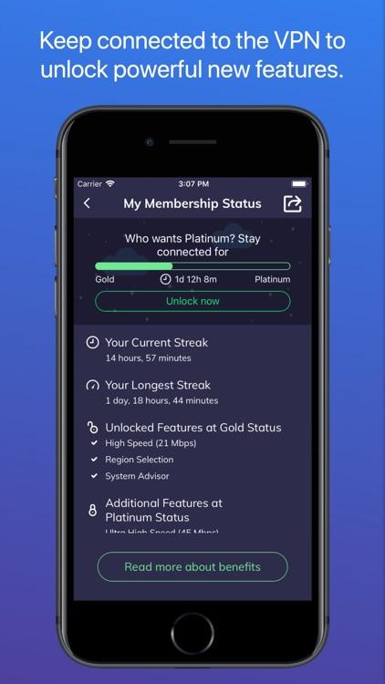 Luna: Best VPN for iPhone/iPad screenshot-7
