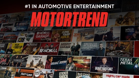 MotorTrend: Stream Car Shows | App Price Drops