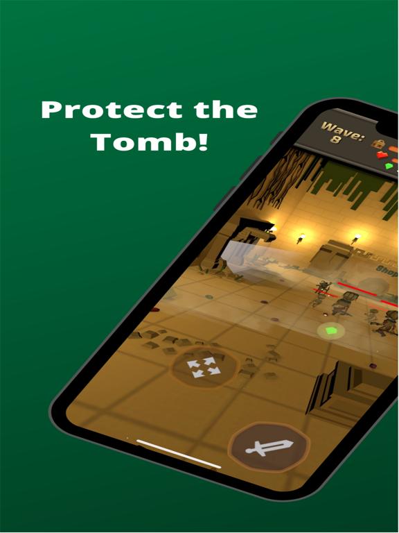 Ipad Screen Shot Tomb Defender 0