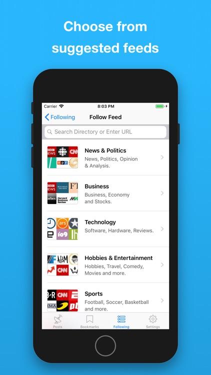 NewsWave - RSS News Reader screenshot-5