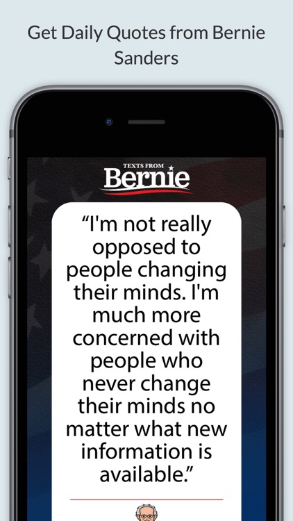Texts From Bernie Sanders