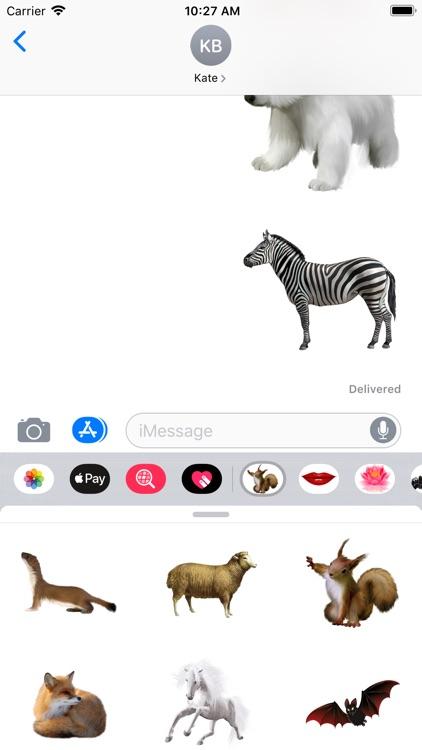 Amazing Zoo Stickers screenshot-4
