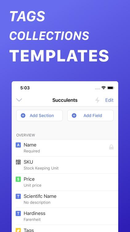 Inventory List - Track Things screenshot-4