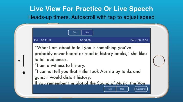Public Speaking Teleprompter screenshot-4
